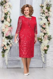 платье Ninele 7269 красный
