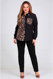блуза Таир-Гранд 62364 черный-леопард