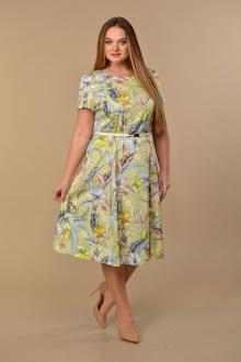 Lady Style Classic 1813 зеленый_цветы