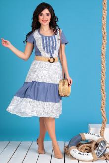 Мода Юрс 2130 синий+белый