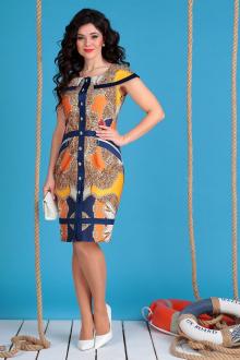 Мода Юрс 2129 синий+оранж