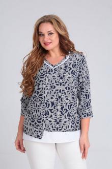 блуза SOVITA M-677 узоры