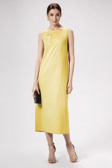 платье Панда 477180 горчичный