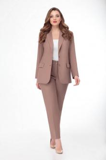 брюки,  жакет Gold Style 2289 светло-коричневый