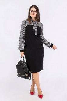 блуза,  юбка Daloria 9074 черный