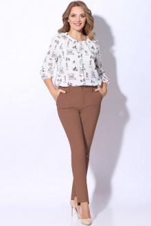 Lenata 11098 коричневый