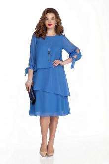 платье TEZA 325 голубой