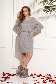 Платье AMORI 9464 серый
