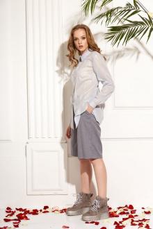 Блуза AMORI 6180 голубой