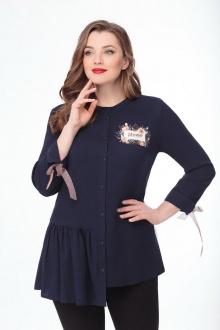 блуза DaLi 5452 синий