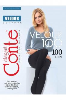 Conte Elegant Velour_100_Nero