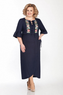 Платье LaKona 1285 синий