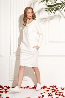 Платье AMORI 9454 молоко