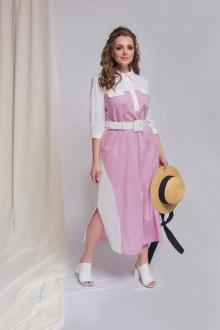 ELLETTO 1768 бело-розовый