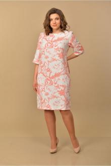 Lady Style Classic 1030/3 бело-розовый