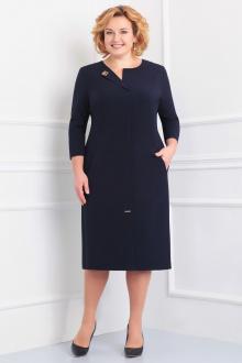 платье Линия Л Б-1607 т.синий
