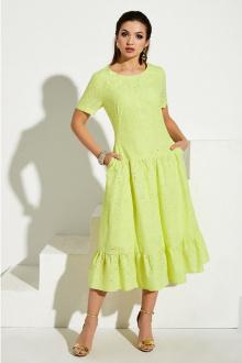 платье Lissana 3974 лимонный