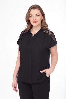 блуза БелЭкспози 1237 черный