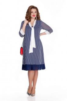 платье TEZA 757 синий
