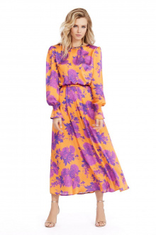 платье PiRS 974 оранжевый