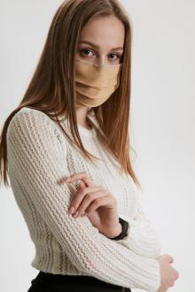 маска AMORI 1003/100шт. бежевый