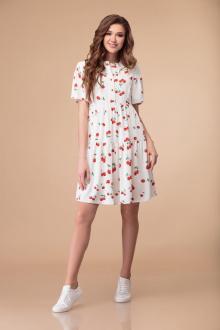 Svetlana-Style 1368 белый+вишни