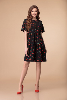 Svetlana-Style 1379 черный+вишни