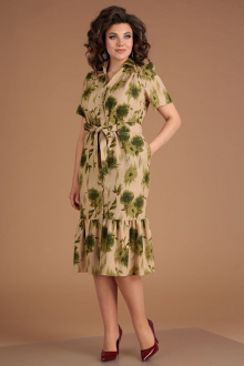 Мода Юрс 2543 бежево-зеленый