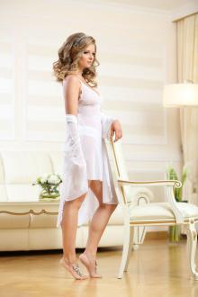 Сорочка Verally 313-3 белый