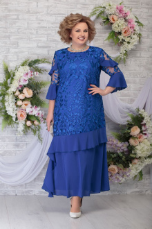 платье Ninele 5781 василек