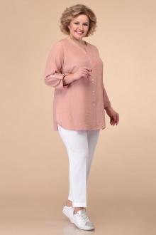 блуза Линия Л Б-1809 пыльно-розовый