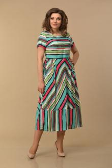 Lady Style Classic 1860/1 полоски_зеленый