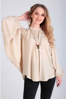 блуза Таир-Гранд 62366 кэмел