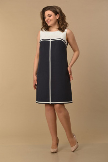 Lady Style Classic 804 т_синий-белый