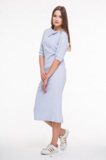 Платье AMORI 9200 голубой
