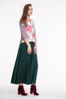 юбка AMORI 3037 темно-зеленый