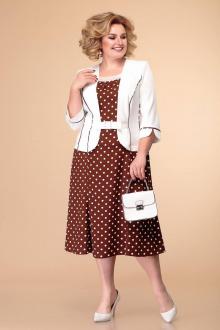 Romanovich Style 1-886 белый/коричневый.