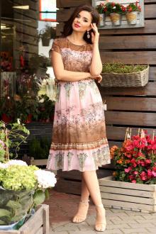 Мода Юрс 2557 розовый-коричневый
