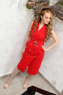 Andrea Fashion AF-10 красный