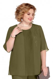 Блуза Pretty 1085 хаки
