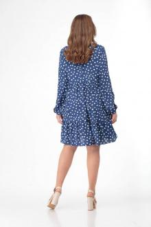 платье Gold Style 2411 синий