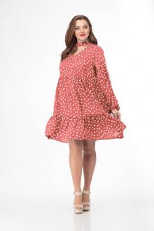 платье Gold Style 2411 красный