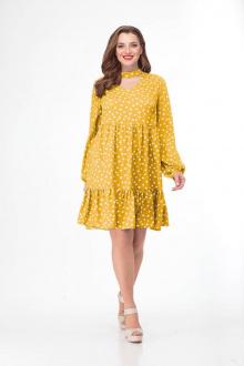 Платье Gold Style 2411 желтый