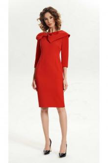 Платье Vladini 4141 красный