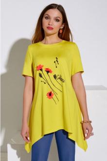 Lissana 4075 желтый+джинс