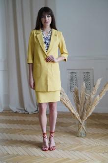 блуза,  жакет,  юбка Rishelie 781 желтый