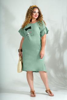 Liliana 844 серо-зелёный