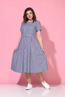 Lady Style Classic 1270/5 синий-белый