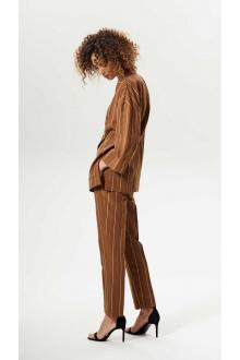 брюки,  жакет Vladini 7127 коричневый