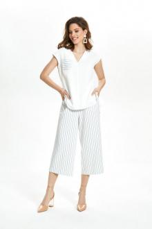 блуза,  кюлоты TEZA 1353 белый